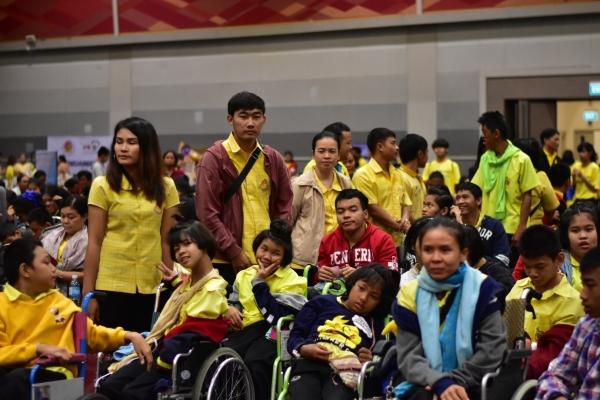 ร่วมกิจกรรมวันคนพิการโลก ณ เซ็นทรัลพลาซา ขอนแก่น 17 ธันวาคม 2561