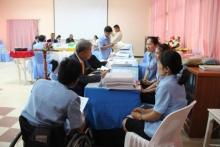 รับการติดตาม ตรวจสอบและประเมินคุณภาพภายในสถานศึกษา ระดับการศึกษาขั้นพื้นฐาน