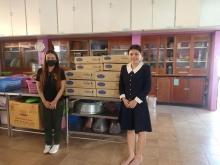 ขอขอบพระคุณ บริษัทซีพีแรม จำกัด สาขาที่ 00007 ที่มามอบขนมปังเลอแปง 400 ชิ้นให้กับนักเรียนโรงเรียนศรีสังวาลย์ขอนแก่นค่ะ