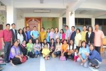 โรงเรียนโสตสุรินทร์มาศึกษาดูงานเกี่ยวกับกิจกรรมการเรียนการสอน ในกิจกรรมเกษตร