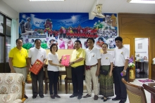 มูลนิธิประเทศไทยใสสะอาด ร่วมกับ กรมกิจการสตรีและสถาบันครอบครัวกระทรวงการพัฒนาสังคมและความมั้นคงของมนุษย์ ได้มาศึกษาดูงาน