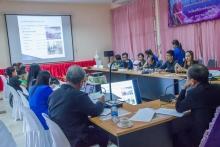 ประชุมคณะกรรมกาณสถานศึกษา ณ โรงเรียนศรีสังวาลย์ขอนแก่น