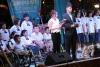 โรงเรียนศรีสังวาลย์ขอนแก่นได้ร่วมร้องเพลงประสานเสียง ในงาน Welcome to the ASEAN Community ณ ตลาดต้นตาล จังหวัดขอนแก่น