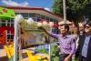 รับมอบสนามเด็กเล่นรีไซเคิลจากขวดแชมพู จาก มูลนิธิพีแอนด์จีประเทศไทยเพื่อสังคม