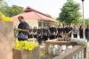 พิธีรดน้ำดำหัวผู้ใหญ่ เพื่อเป็นการแสดงความเคารพต่อ ผู้ใหญ่ และผู้มีพระคุณ ณ โรงเรียนศรีสังวาลย์ขอนแก่น